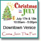 Venice Christmas in July